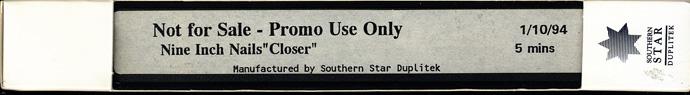 CLOSER-AUSPROMO-VHS-S